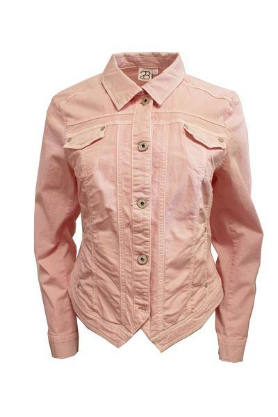 Stilig, lys rosa jakke