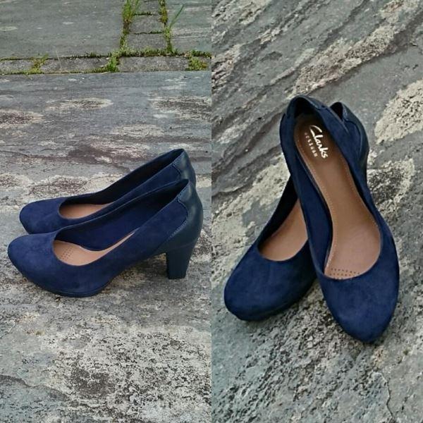 pumps-blå
