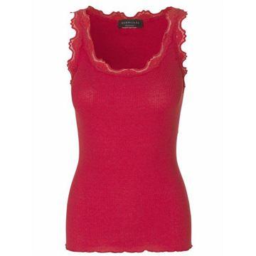 klassisk-silkesinglet-rød