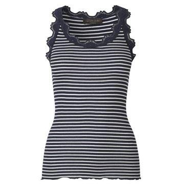 klassisk-silkesinglet-marineoff-white-stripe