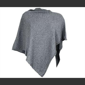 poncho-koksgrå