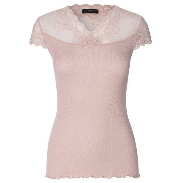 Bilde av trend silk T-shirt Pudder rosa