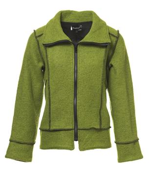 boheme-jakke-grønn
