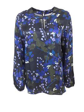 elise-silkebluse-eletrisk-blå