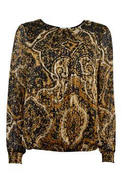 Bilde av golden blouse Konjakk