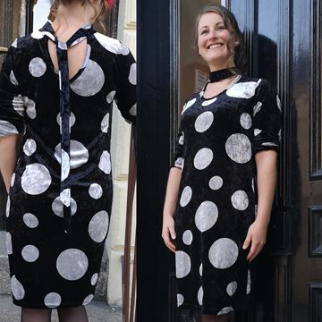berte-kjole-sort