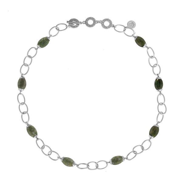indisk-grønn-agat-matt-sølv