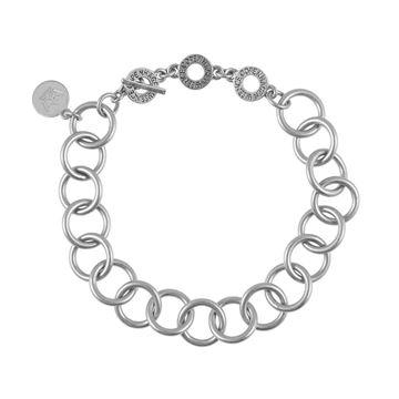 essensial-medium-chain-armbånd-matt-sølv
