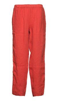 lin-bukse-terracotta