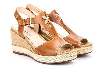 venezia-platå-sandal-konjakk