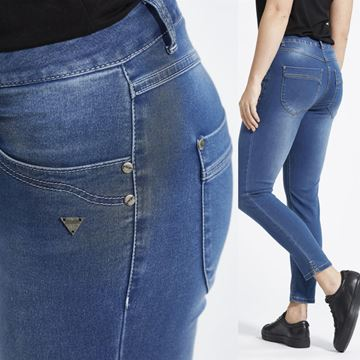 minni-jeans-blå