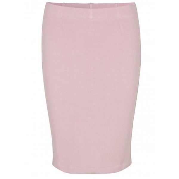 klassisk-skjørt-viscose-soft-pink