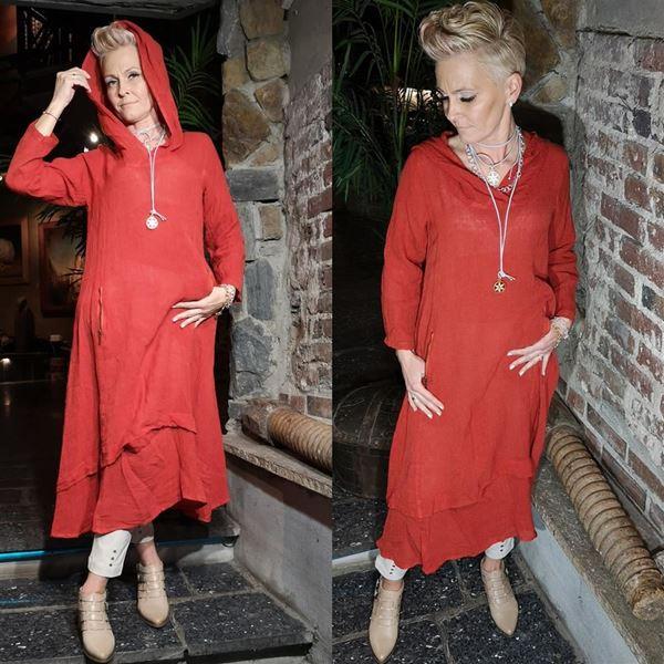 Bilde for kategori Hette kjole i lin🧡