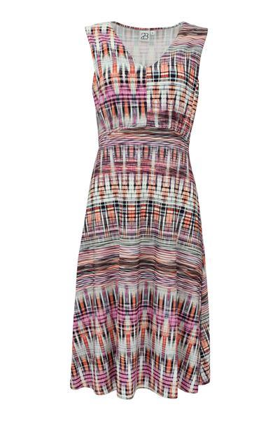 flamme-kjole-multicolor