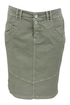 louise-skirt-kaki-grønn