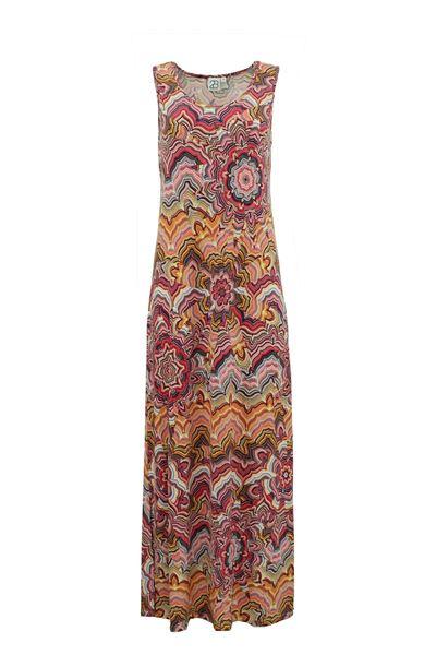 fantasiblomst-kjole-coral