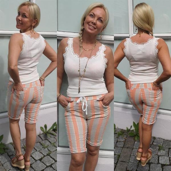 stripes-shorts-papaya