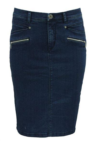 jeans-skjørt-denimblå