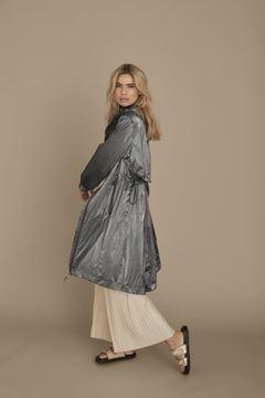 monaco-coat-metallisksvag-dyreprint