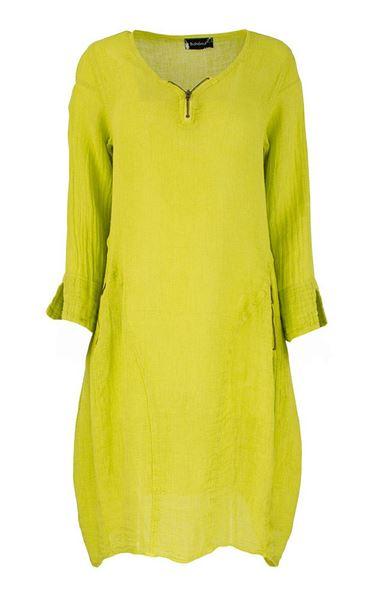 kjole-lime-grønn