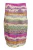 henna-strech-skjørt-multicolor