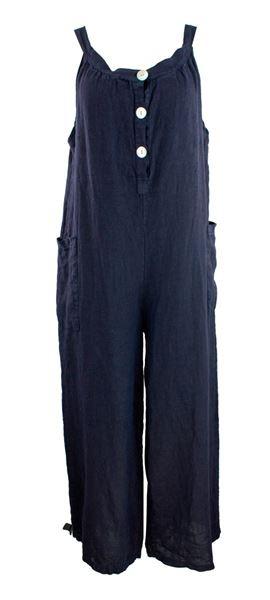 overall-blå